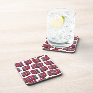 London Bus Drink Coasters