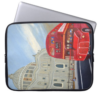 London Bus Electronics Bag Computer Sleeve