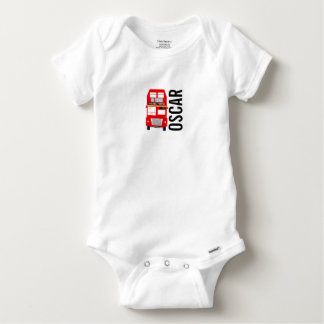 London Bus Gerber Baby Vest Baby Onesie