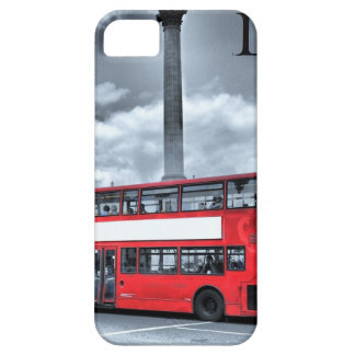 LONDON BUS in Black & White (St.K) iPhone 5 Case