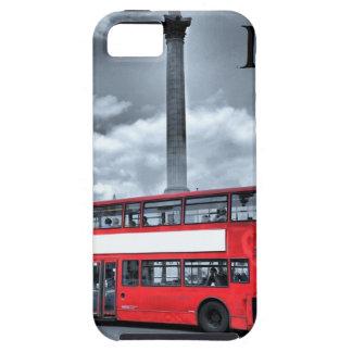 LONDON BUS in Black & White (St.K) iPhone 5 Case