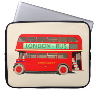 London Bus Laptop Sleeve