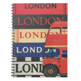 London bus notebooks
