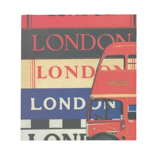 London bus - Notepad