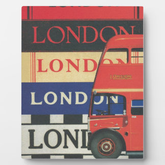 London bus plaque