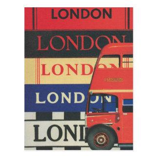 London bus - Postal Postcard