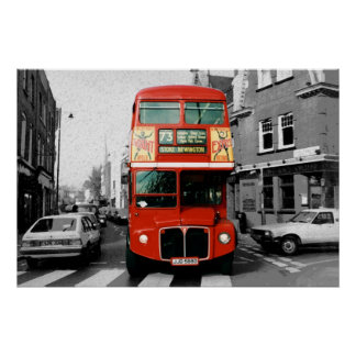 London Bus Poster 3