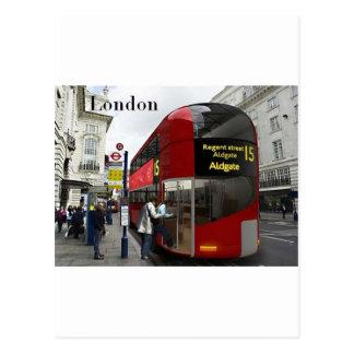 London bus (St.K) Postcard