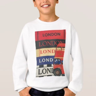 London bus sweatshirt