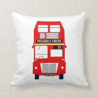 London Bus/Union Jack Cushion
