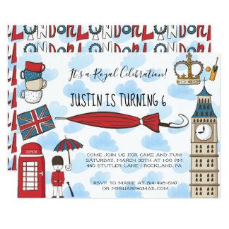 London Calling Party Invitation