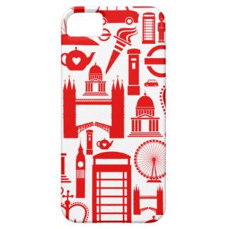London Calling Retro Graphic iPhone 5 Cover