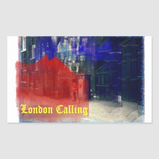 London Calling Sticker