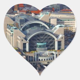 London Cannon Street Station Heart Sticker