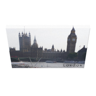 London Canvas Stretched Canvas Print