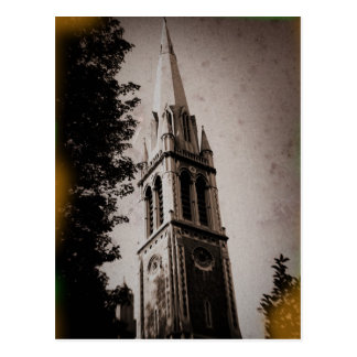 London Church Steeple Post Card