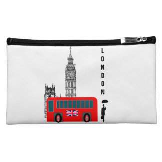 London Cit Cosmetic Bag