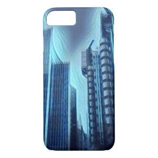 London City Architecture Electric efect iPhone 8/7 Case