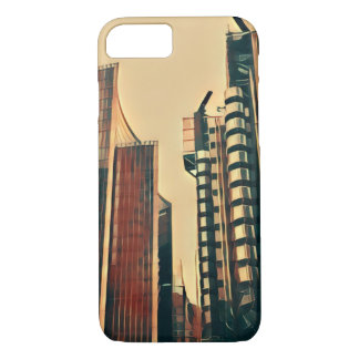 London City Architecture Manga efect iPhone 8/7 iPhone 8/7 Case