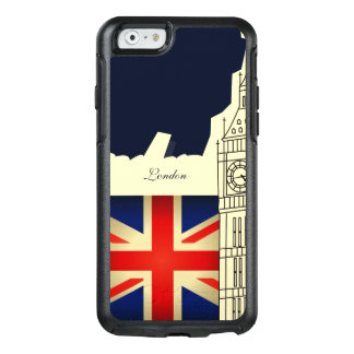 London City Big Ben Union Jack Flag OtterBox iPhone 6/6s Case
