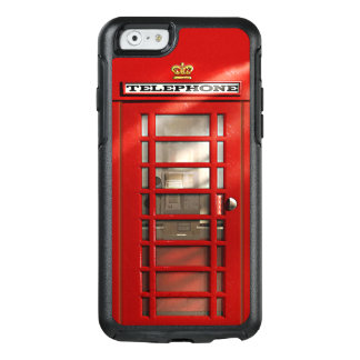 London City British Red Phone Booth OtterBox iPhone 6/6s Case