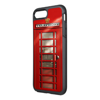 London City British Red Phone Booth OtterBox Symmetry iPhone 7 Plus Case