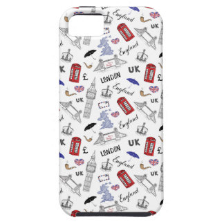 London City Doodles Pattern Case For The iPhone 5