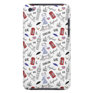 London City Doodles Pattern Case-Mate iPod Touch Case