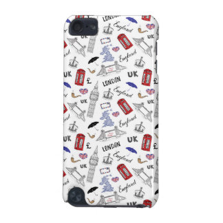 London City Doodles Pattern iPod Touch (5th Generation) Cover