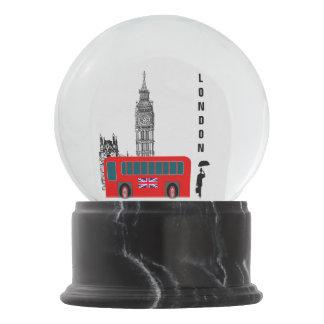 London City Snow Globe