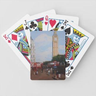 London Corner Bicycle Playing Cards