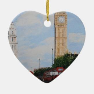 London Corner Ceramic Ornament