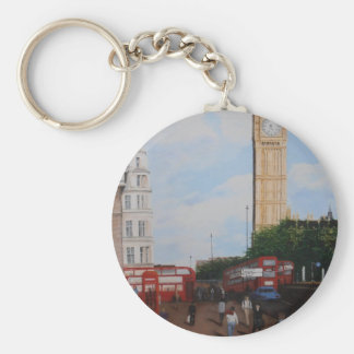 London Corner Keychain