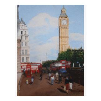 London Corner Letterhead