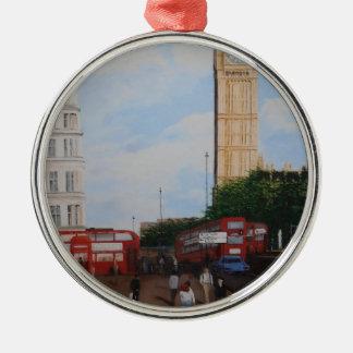 London Corner Metal Ornament