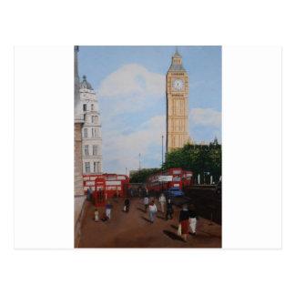 London Corner Postcard