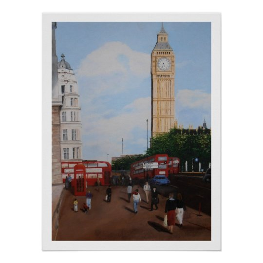 London Corner Poster
