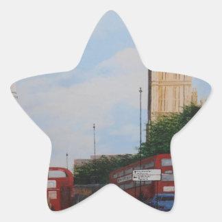 London Corner Star Sticker