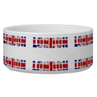 London dog Large Pet Bowl