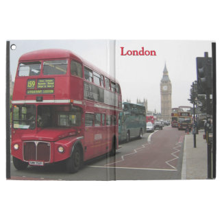 "London Double-decker Bus iPad Pro 12.9"" Case"