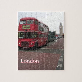 London Double-decker Bus Jigsaw Puzzle