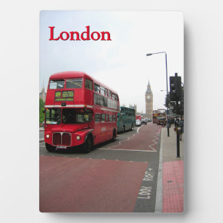 London Double-decker Bus Plaque