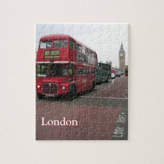 London Double-decker Bus Puzzles