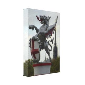 London Dragon Canvas Print