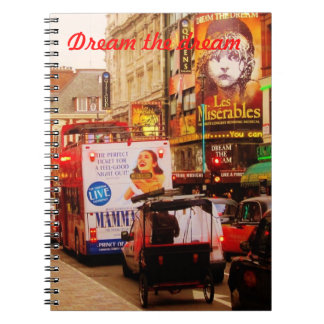 London dream notebook