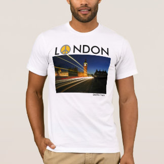 London, E peace, L, NDON, Electified Peace T-Shirt