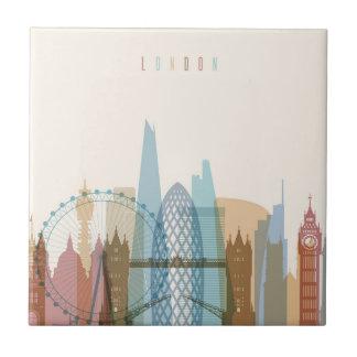 London, England | City Skyline Tile