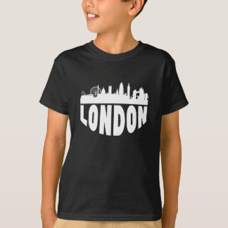 London England Cityscape Skyline T-Shirt