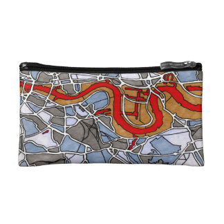 London, England Cosmetic Bags