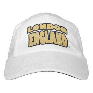 London England Gold Worded Performance Hat